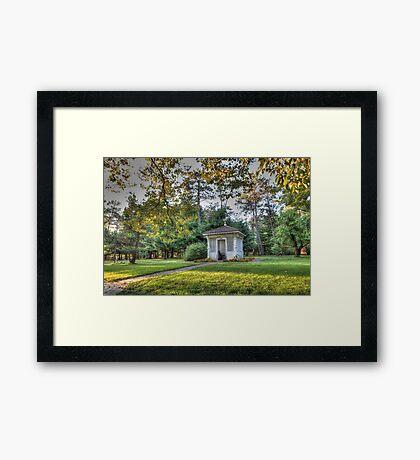 Arbor Lodge Framed Print