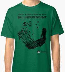 Camiseta clásica Be μindependent