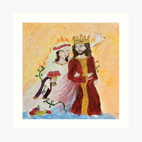 Bride of Christ  Art Print