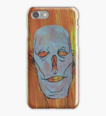 Blue and empty. iPhone Case/Skin
