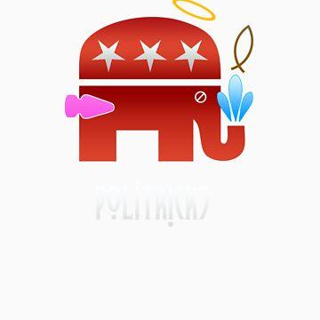 Vote Republican 2012 by Blasphemy