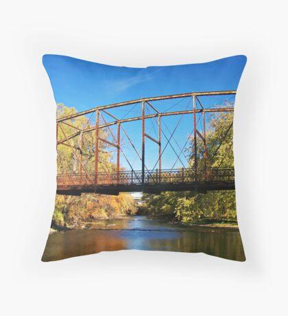 Autumn Rust Throw Pillow