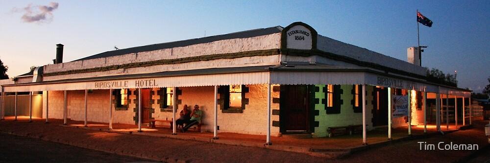 Birdsville Hotel, Queensland by Tim Coleman