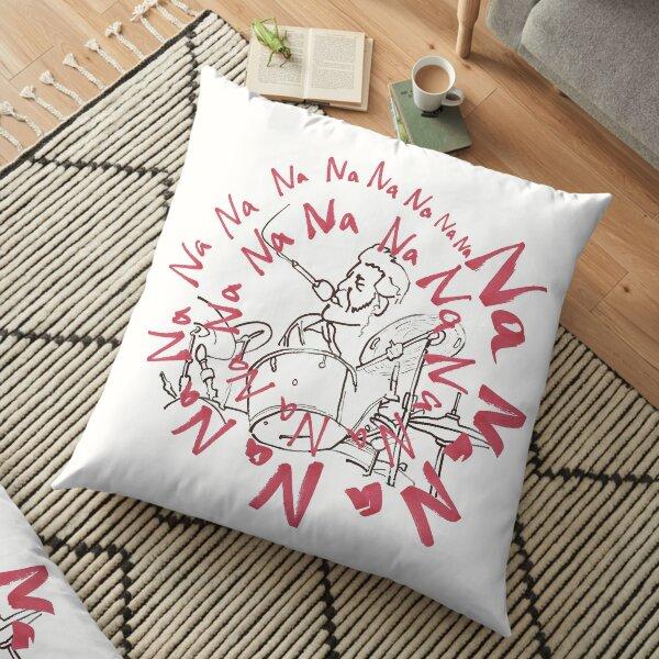 Singing Drummer Levon Helm Floor Pillow