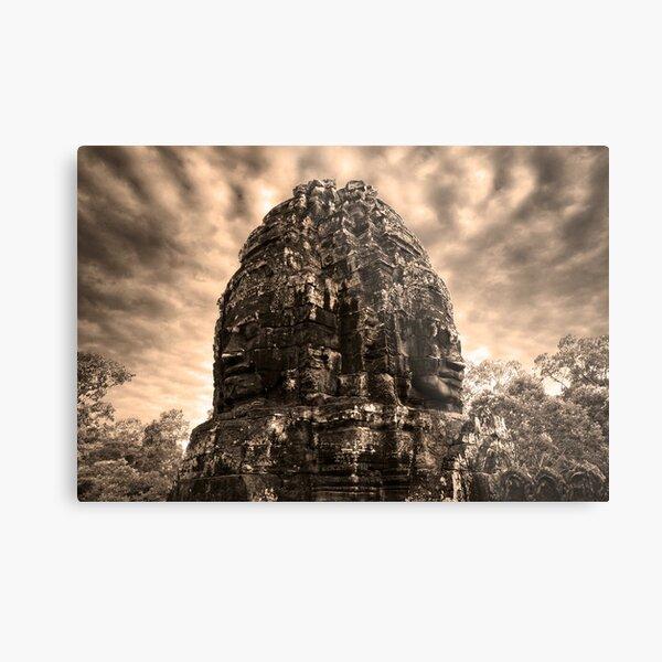 Jungle Faces, Cambodia II Metal Print