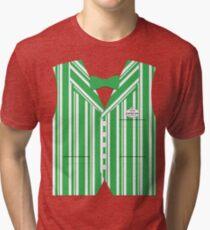 Dapper Dans Vest - Green Tri-blend T-Shirt