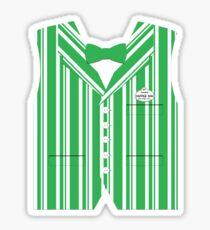 Dapper Dans Vest - Green Sticker