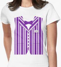 Dapper Dans Vest - Purple Women's Fitted T-Shirt