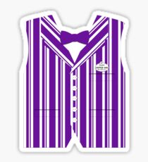 Dapper Dans Vest - Purple Sticker