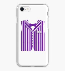 Dapper Dans Vest - Purple iPhone Case/Skin