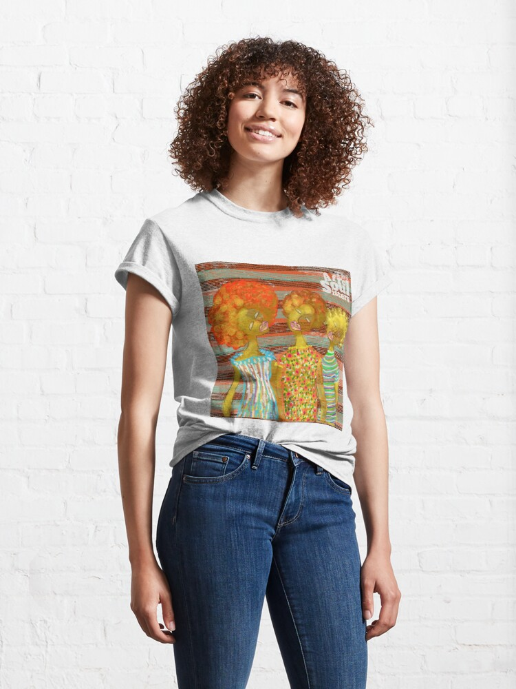Alternate view of The AfroSoul Sisters Classic T-Shirt