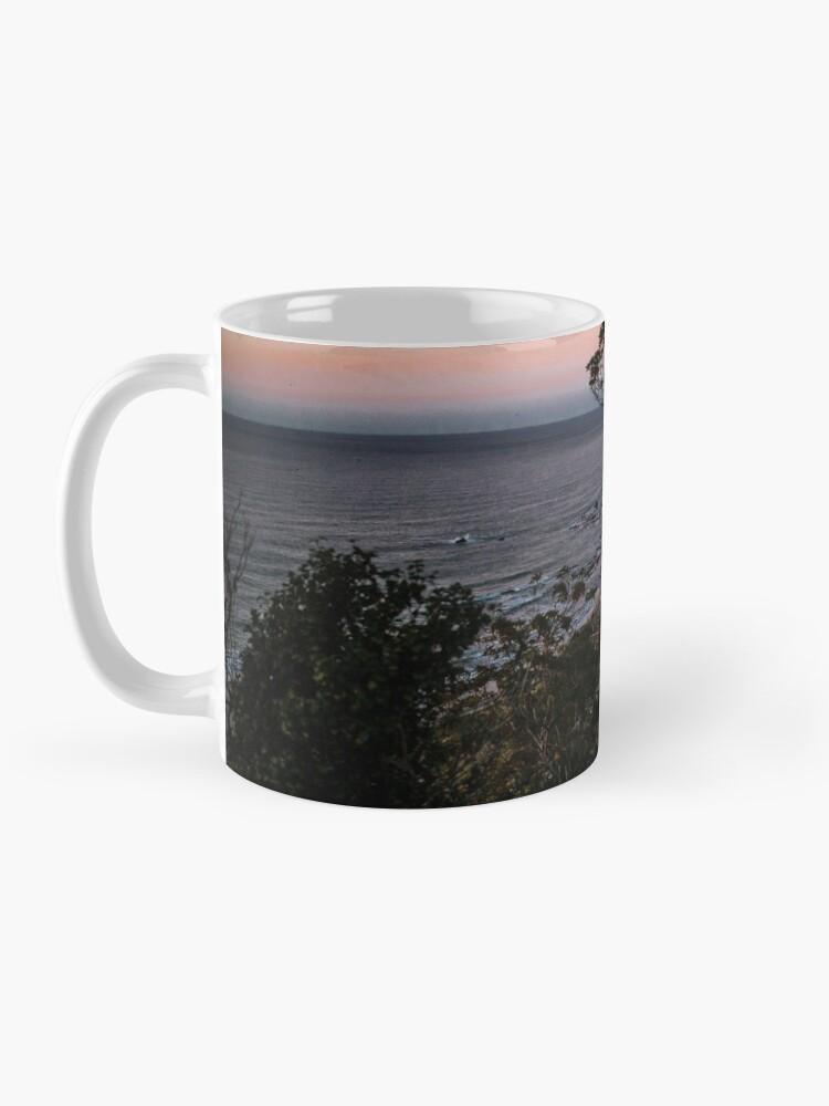 Alternate view of Rural road sunset Mug