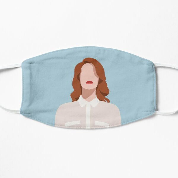 Lana del Rey Drawing Flat Mask