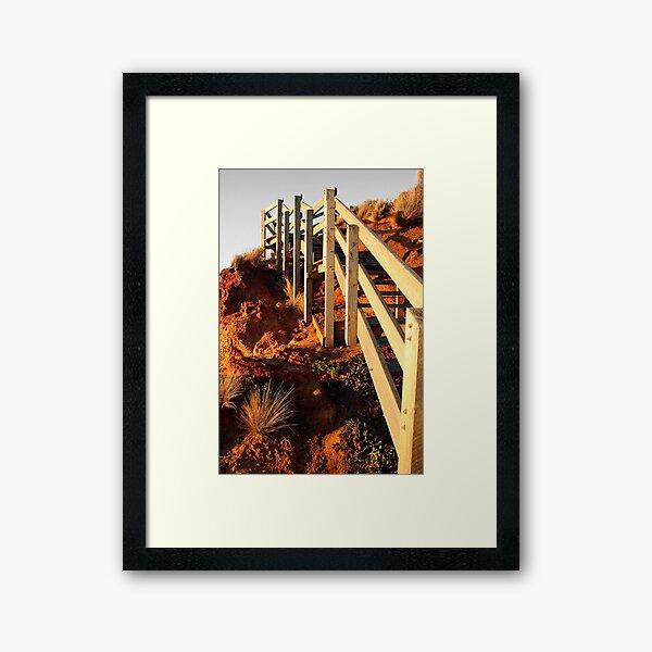 The Ascent 2 Framed Art Print