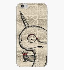 Narwhal with Monocle iPhone Case