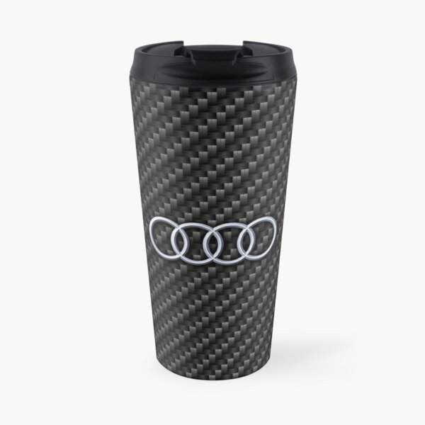 Carbon fiber Audi Travel Mug