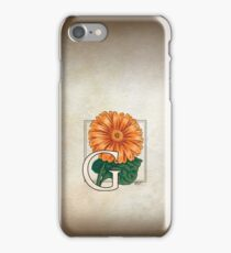 G is for Gerbera iPhone Case/Skin