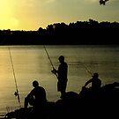 lads fishing  by fazza