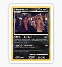 Cabenson Pokemon Card Sticker
