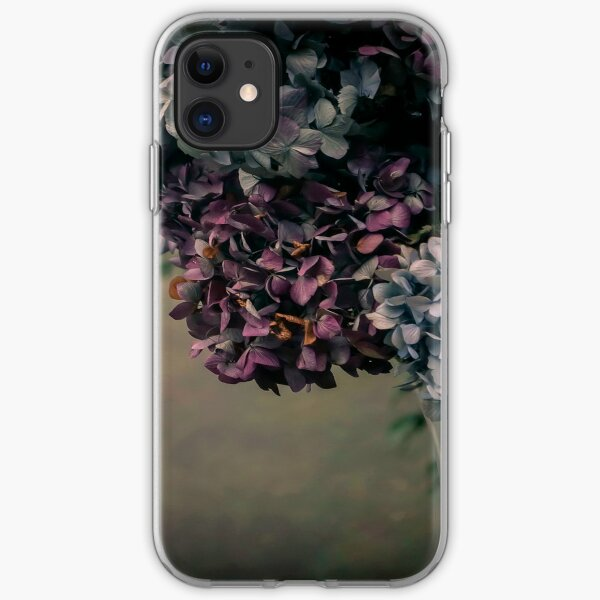 Hydrangea in the Fall iPhone Soft Case