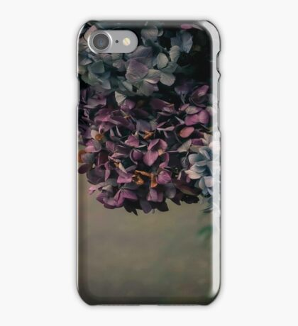 Hydrangea in the Fall iPhone Case/Skin