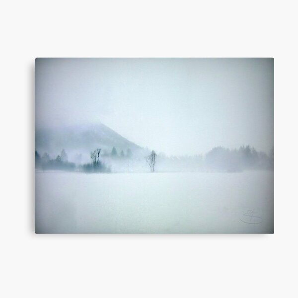 Lost in the cold void of hopeless longing Canvas Print