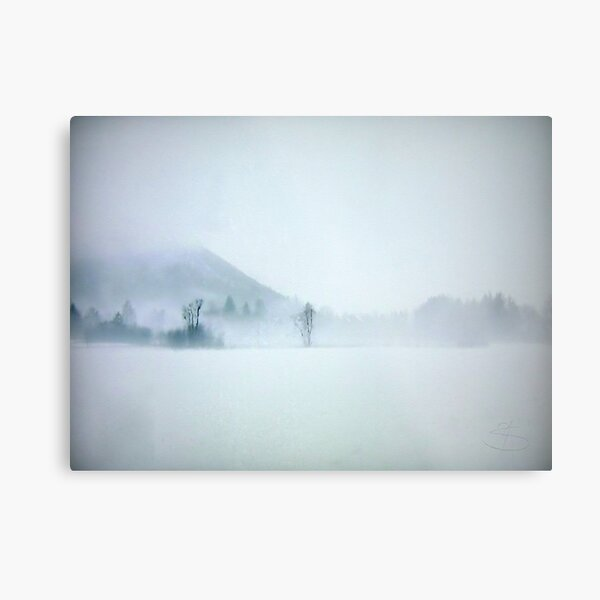 Lost in the cold void of hopeless longing Metal Print