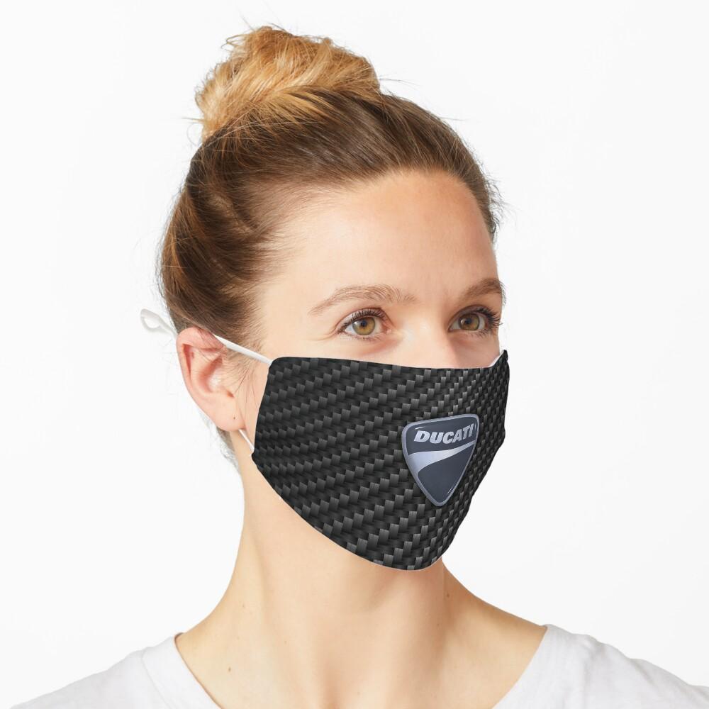 Masque «Ducati en fibre de carbone»