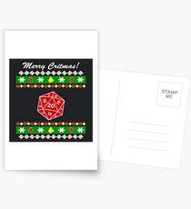 Merry Critmas! Ugly Christmas Sweater Postcards