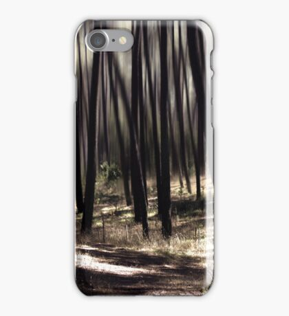 autumn rays iPhone Case/Skin