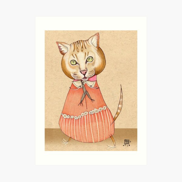 Hey, Kitty Art Print