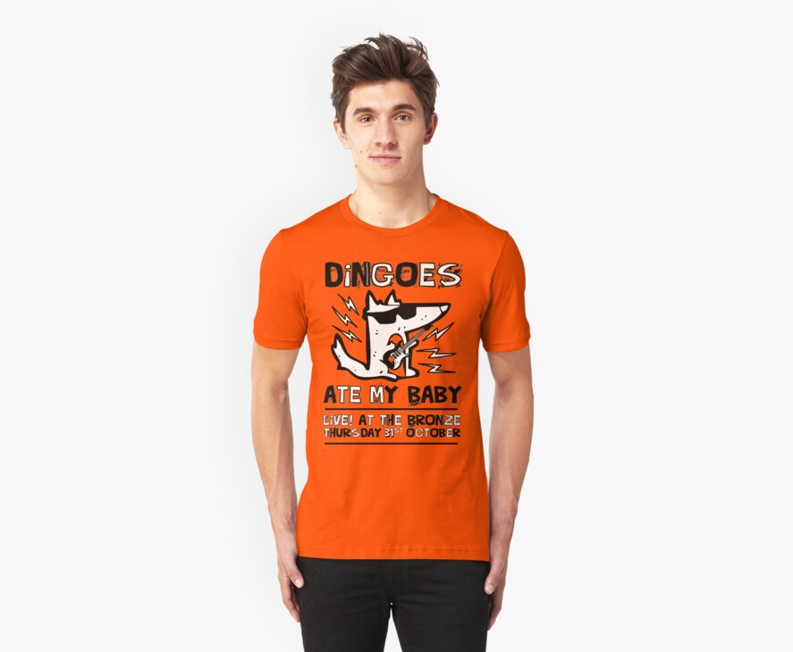 Dingoes Ate My Baby | Buffy The Vampire Slayer Band T-shirt by J M