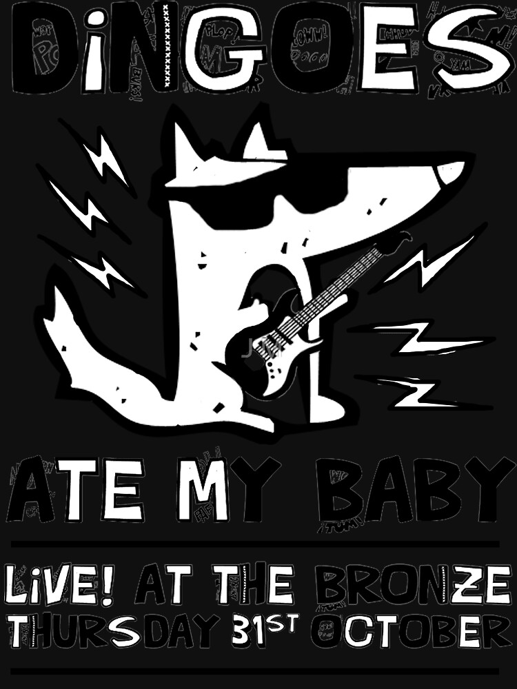 Dingoes Ate My Baby | Buffy The Vampire Slayer Band T-shirt by JessicaKing