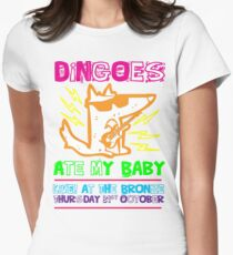 Dingoes Ate My Baby | Buffy The Vampire Slayer Band T-shirt [Neon] Women's Fitted T-Shirt