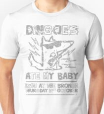 Dingoes Ate My Baby   Buffy The Vampire Slayer Band T-shirt [Distressed] Unisex T-Shirt