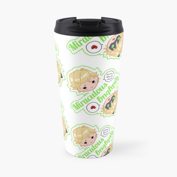 Miraculous Ladybug Adrien Chat Noir Reversible Travel Mug