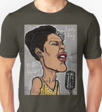 Billie Holiday 'Lady Day' by Shan Stumpf T-Shirt