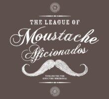 Movember - Moustache Afficionado League white | Unisex T-Shirt