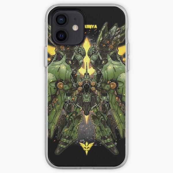 Gundam Khsatriya iPhone Soft Case