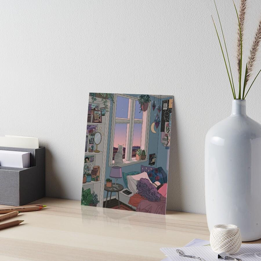 Early Morning Art Board Print