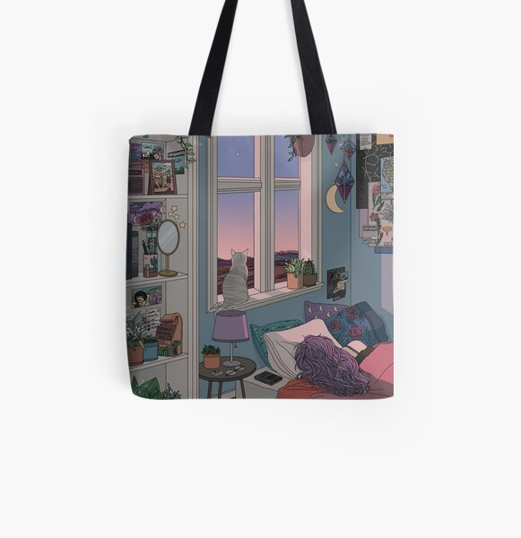 Early Morning All Over Print Tote Bag