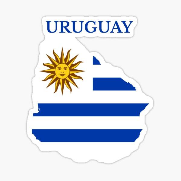 Hace un gran regalo para uruguayo Pegatina