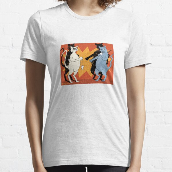 Cats playing conkers with mice Essential T-Shirt