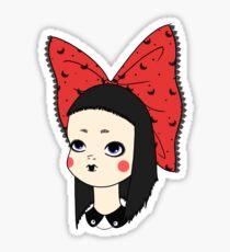 Goth Girl Sticker