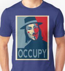 V - Occupy Unisex T-Shirt