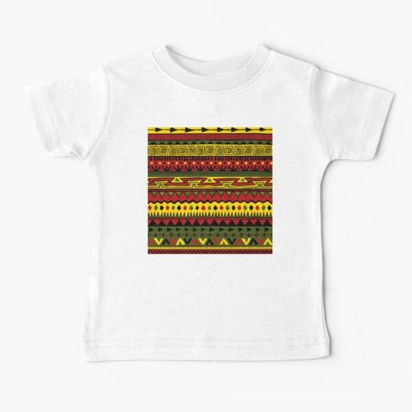 Rasta Way Pattern Baby T-Shirt