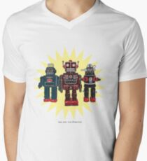 We Are The Robots Men's V-Neck T-Shirt