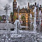 Bradford Fountains and City Hall - HDR by Colin  Williams Photography