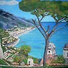 Ravello, Italy by Teresa Dominici