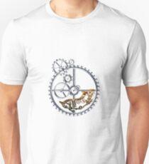 Industrial Silver Dog Unisex T-Shirt